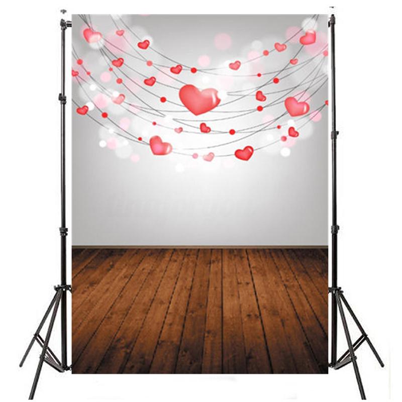 3x5ft-Vinyl-Valentine-039-s-Day-Photography-Background-Photo-Studio-Wedding-Bac-V3H4
