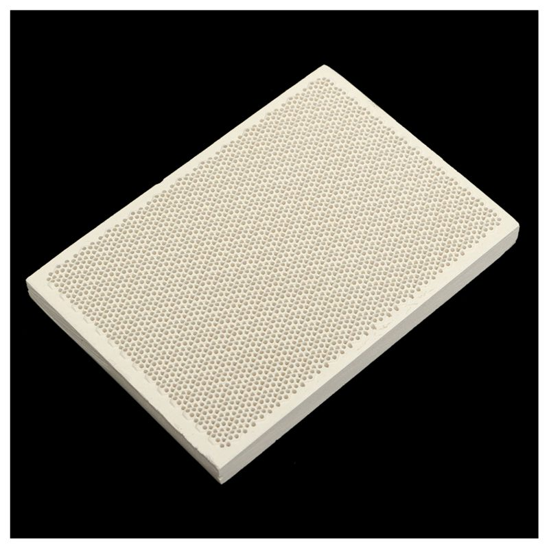 Ceramic-Honeycomb-Soldering-Board-Heating-For-Gas-Stove-Head-135x95x13mm-New-S2P thumbnail 4