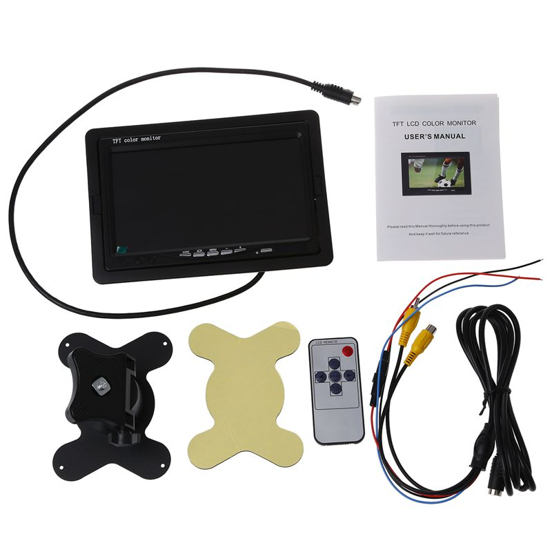 Remarkable 7 Tft Lcd Digital Color Screen Monitor Car Rear View Backup Reverse Wiring 101 Capemaxxcnl