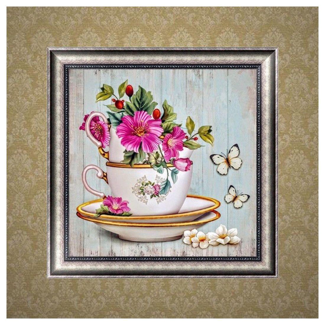 Diy 5d Diamond Embroidery Painting Flower Cross Stitch Home Decor Kit Craft S1f4 Ebay