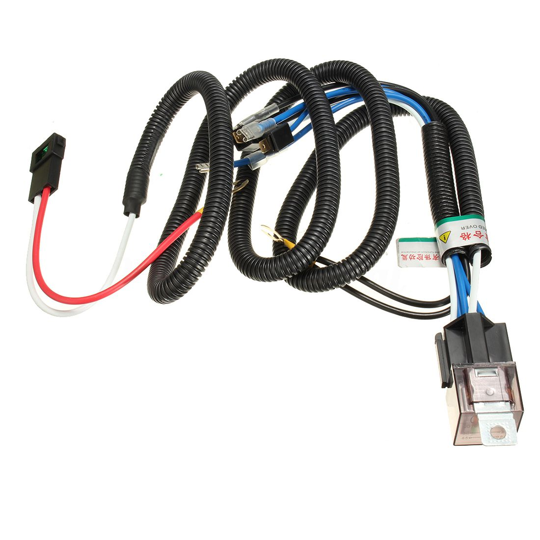 12v Truck Car Horn Relay Wiring Harness Kit For Grille Mount Blast Automotive Melted Tone Hor H2b7