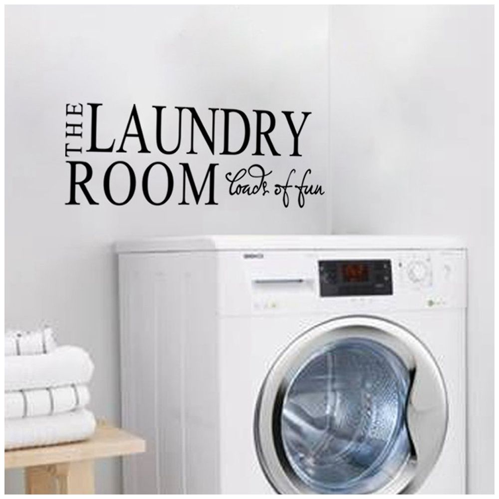 "The Laundry Room Loads Of Fun Decal The Laundry Room Loads Of Fun"" Quotes And Sayings Wall Decals"