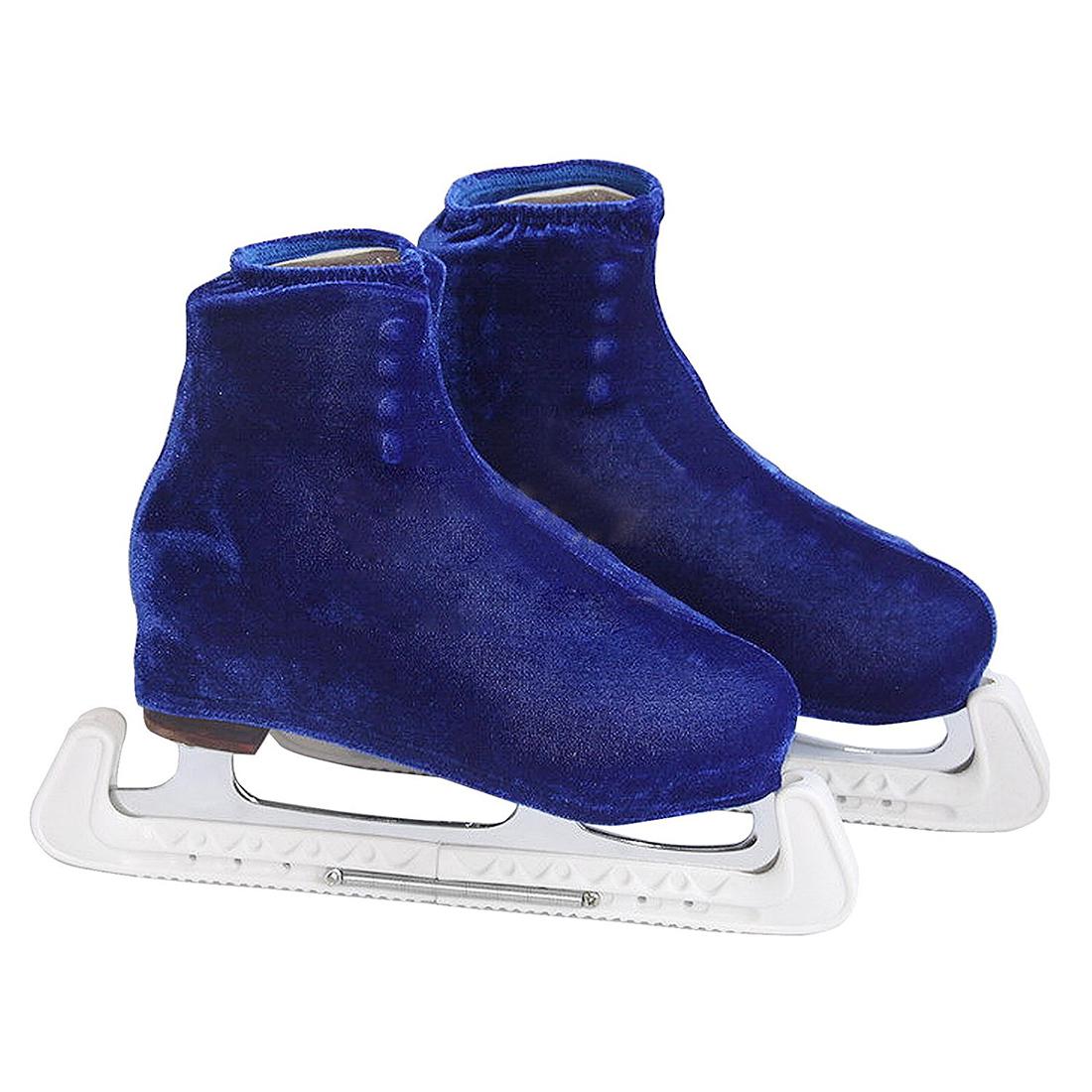 1-Pair-of-Figure-Skate-Shoe-Cover-Ice-Knife-Blade-Protector-Figure-skate-sh-M5E9 thumbnail 12
