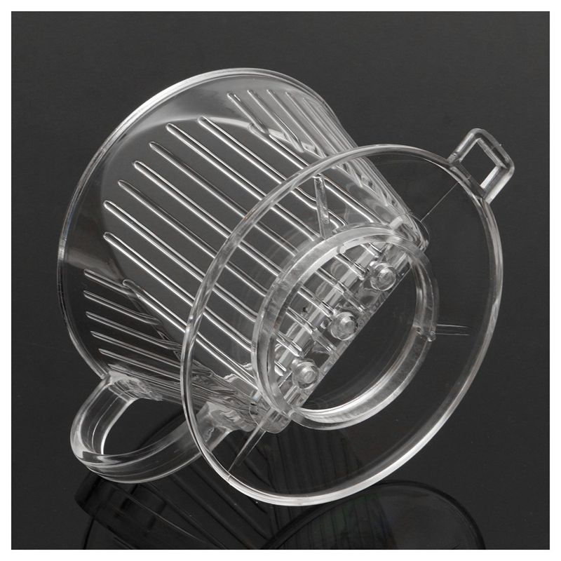 Clear Coffee Filter Cup Cone Maker Brewer Holder Plastic Reusable X1Z6 | eBay