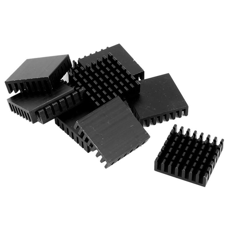 20-Pieces-28-28-8mm-Aluminum-Heatsink-Radiator-Chip-Sink-Cooler-Black-A4H7