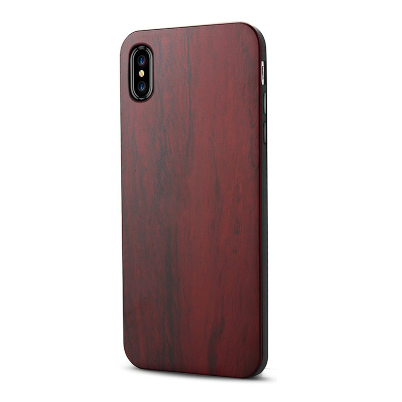 quality design 93134 f40d9 for iPhone X Case Wood Cool Design Drop Protection Scratch Resistant Slim C  A8g1