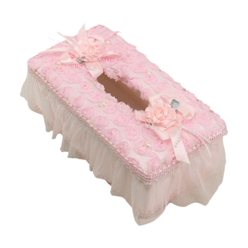 5X-Home-Rectangle-Floral-Lace-Tissue-Box-Case-Napkin-Storage-Cover-Paper-Ho-L4X3