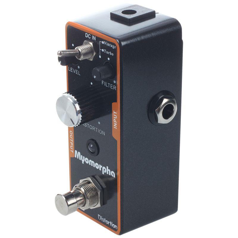 10X(ENO TC-13 Music Distortion Mini Pedal Myomorpha True Bypass T3Z8)
