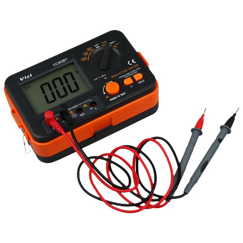 VICI-VC60B-Resistor-de-Instrumento-Aislamiento-Digital-Tester-Megohm-Megger-Ten6
