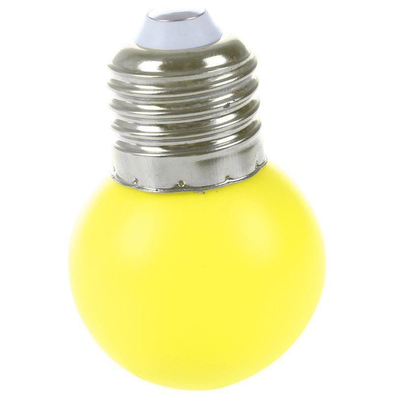 E27-LED-Light-Bulb-Plastic-Bulb-0-5W-Power-N1X3 thumbnail 3