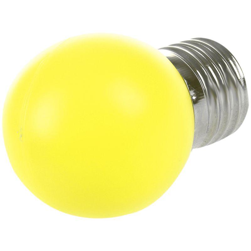 E27-LED-Light-Bulb-Plastic-Bulb-0-5W-Power-N1X3 thumbnail 4
