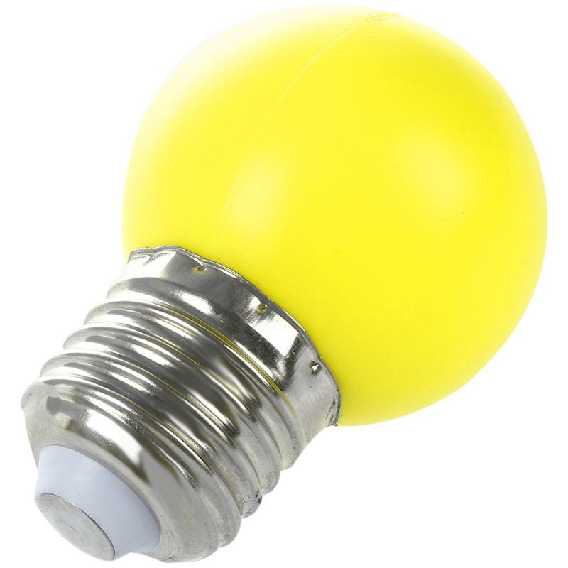 E27-LED-Light-Bulb-Plastic-Bulb-0-5W-Power-N1X3 thumbnail 5