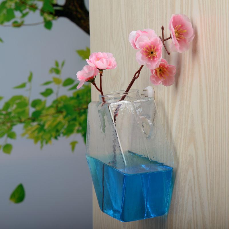 Hanging Glass Vase Flower Planter Pot Terrarium Container Home