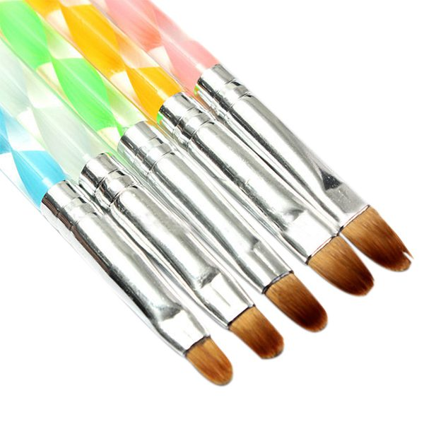 Nail Art Pen Brush UV Gel Painting Drawing Tip Liner Polish Brushes ...
