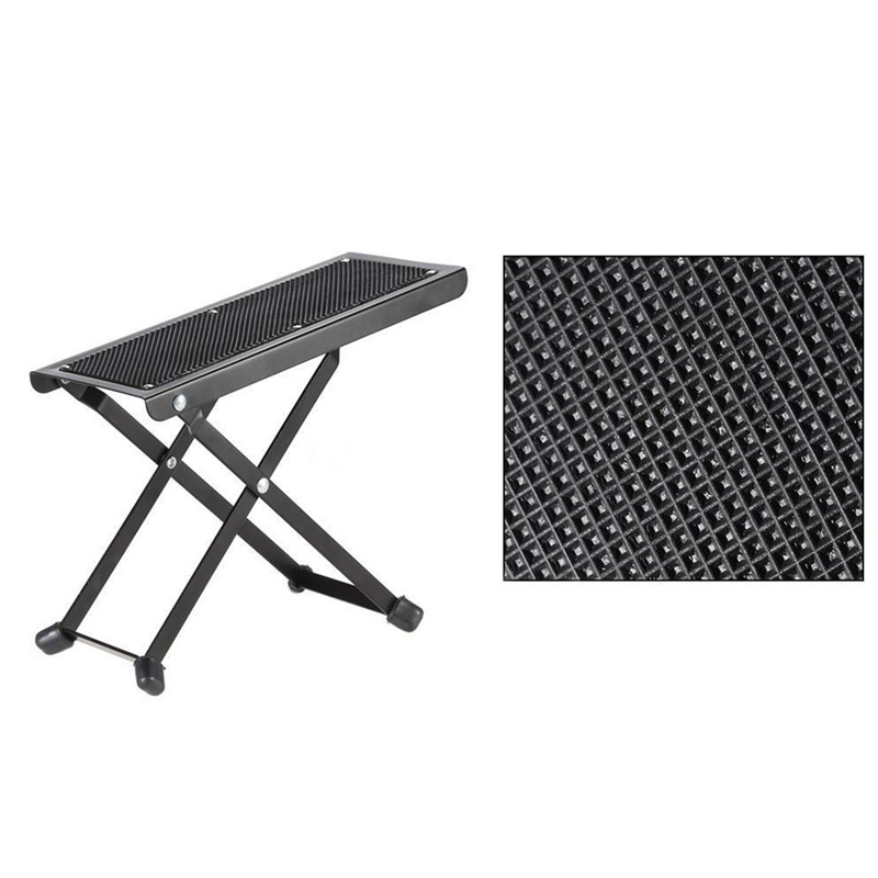 Guitar-Footstool-Footrest-Rest-Acoustic-Electric-Metal-S7F2