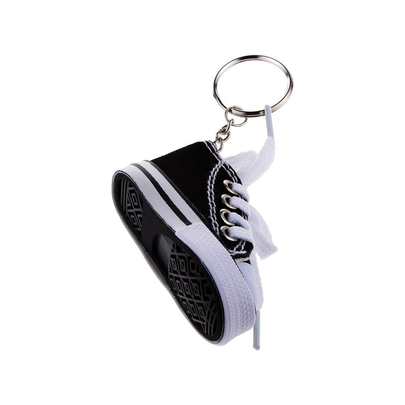 Fashion-Shoe-Pendant-Keychain-Canvas-and-Plastic-Keychain-Gift-K5R3 thumbnail 3