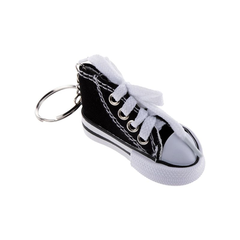 Fashion-Shoe-Pendant-Keychain-Canvas-and-Plastic-Keychain-Gift-K5R3 thumbnail 5