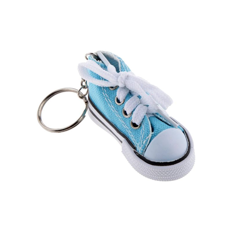 Fashion-Shoe-Pendant-Keychain-Canvas-and-Plastic-Keychain-Gift-K2M3 thumbnail 5