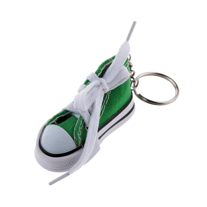 Fashion-Shoe-Pendant-Keychain-Canvas-and-Plastic-Keychain-Gift-K2M3 thumbnail 8