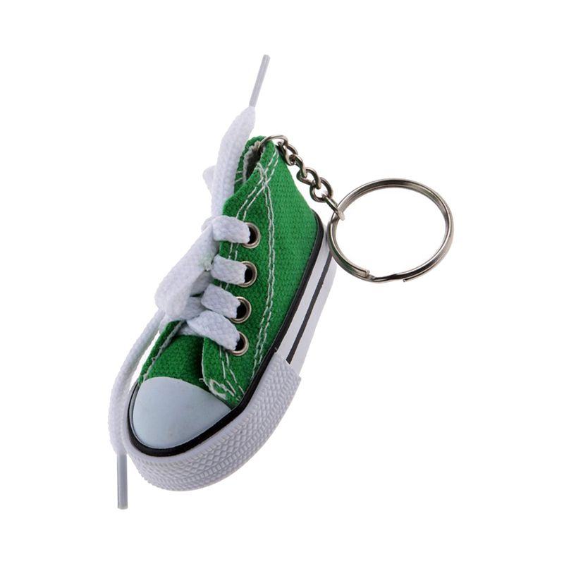 Fashion-Shoe-Pendant-Keychain-Canvas-and-Plastic-Keychain-Gift-K2M3 thumbnail 9