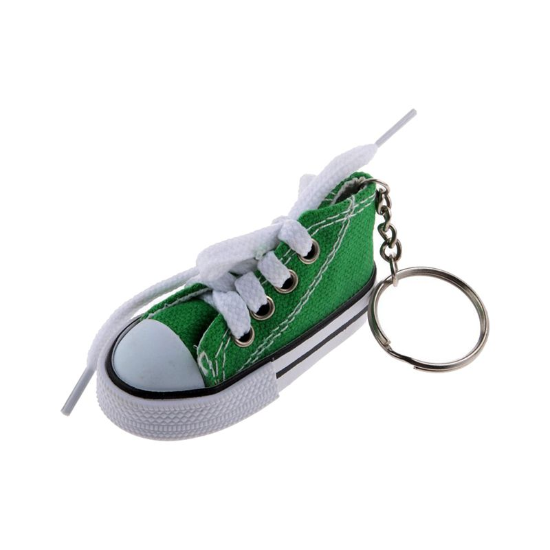 Fashion-Shoe-Pendant-Keychain-Canvas-and-Plastic-Keychain-Gift-K2M3 thumbnail 10