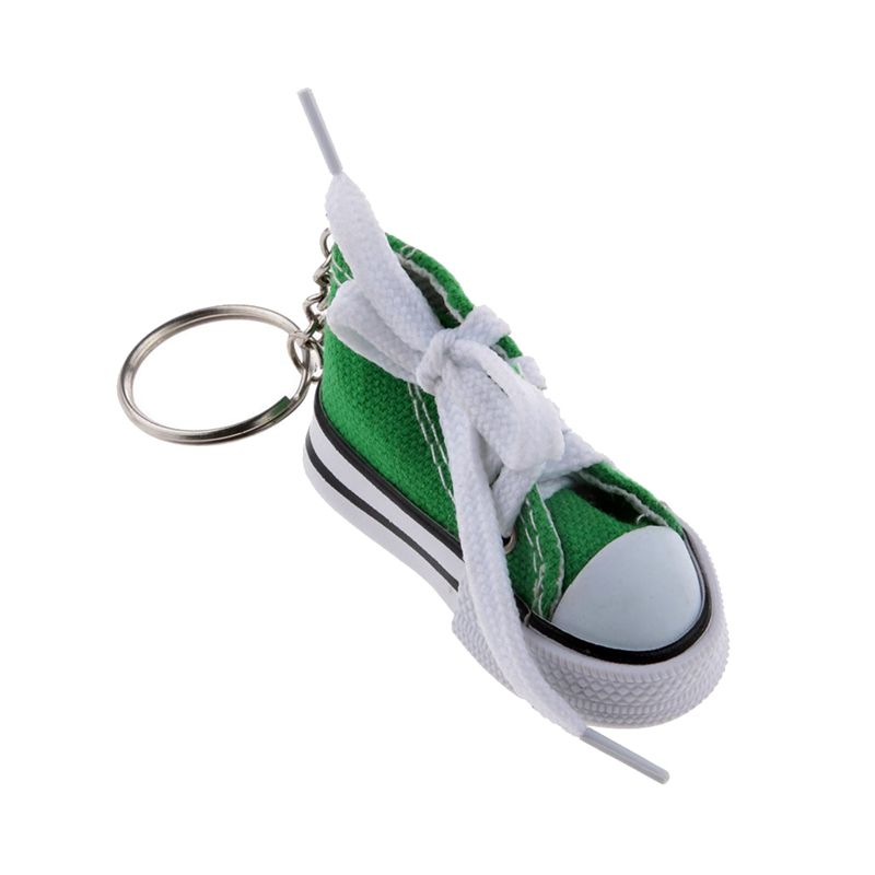 Fashion-Shoe-Pendant-Keychain-Canvas-and-Plastic-Keychain-Gift-K2M3 thumbnail 11