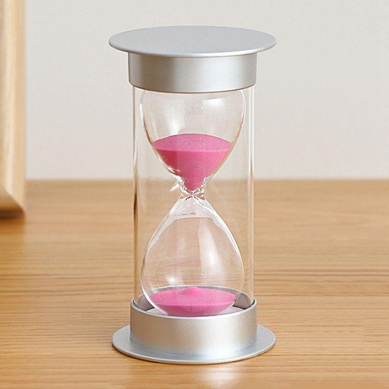 Sablier-20-Minutes-Hourglass-Minuteur-de-Jeu-Decoration-de-Maison-Z5U5 miniature 4