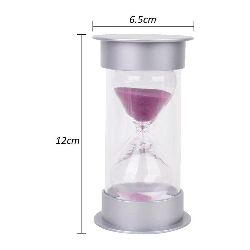 Sablier-20-Minutes-Hourglass-Minuteur-de-Jeu-Decoration-de-Maison-Z5U5 miniature 9