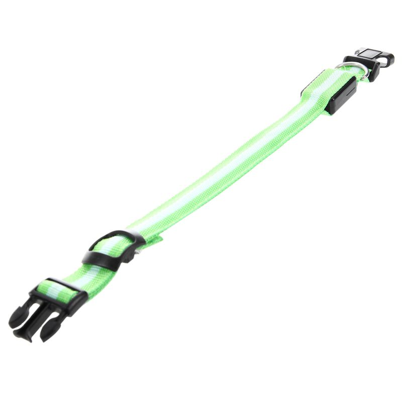 10X-Glow-LED-Cat-Dog-Pet-Collar-Flashing-Light-Up-Safety-Collar-Red-M-N9N6 thumbnail 24