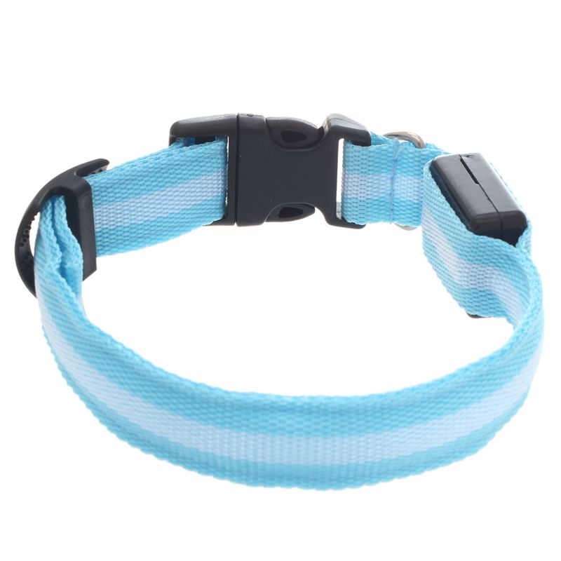 10X-Glow-LED-Cat-Dog-Pet-Collar-Flashing-Light-Up-Safety-Collar-Red-M-N9N6 thumbnail 35