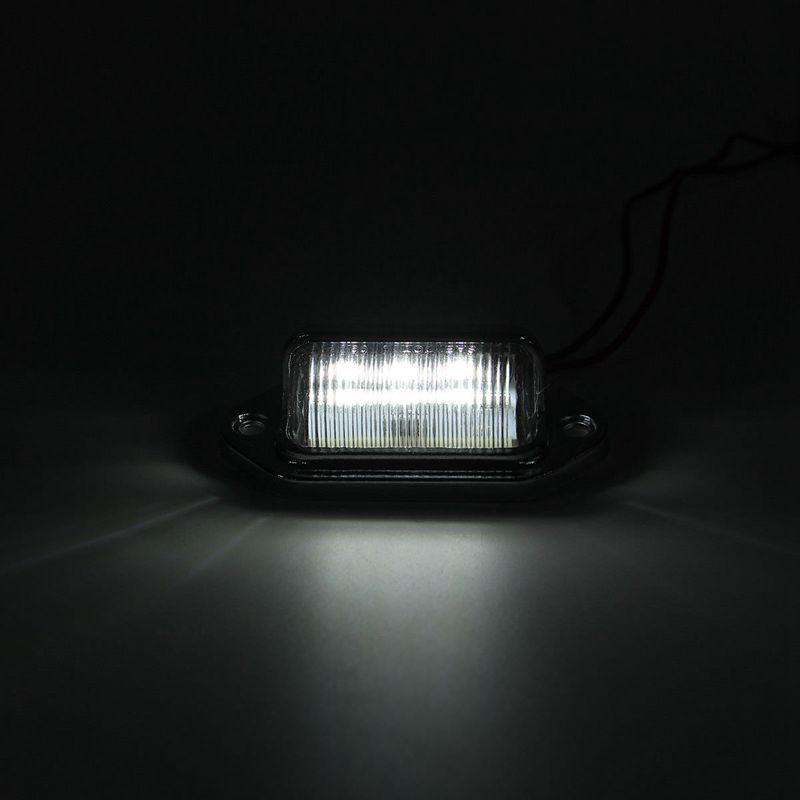12 // 24V 3 LEDs lampe pour PLAQUE DIMMATRICULATION de BATEAU RV CAMION REMORQUE R SODIAL lampe pour PLAQUE