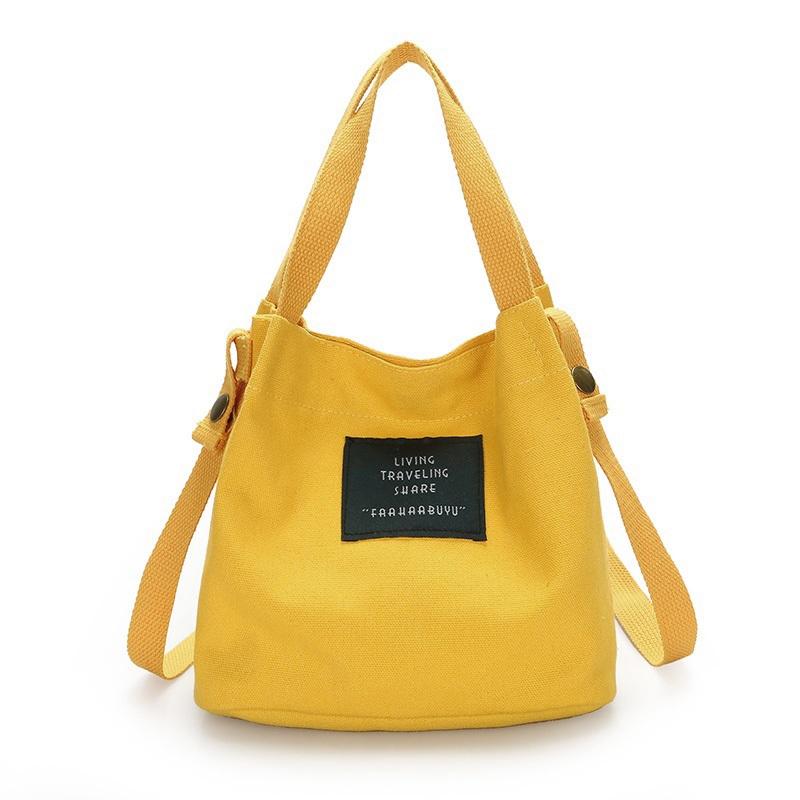 Bolso-de-lona-de-mujer-de-moda-Monedero-bolso-bolsa-de-hombro-Bolsa-de-viaje-PB thumbnail 3