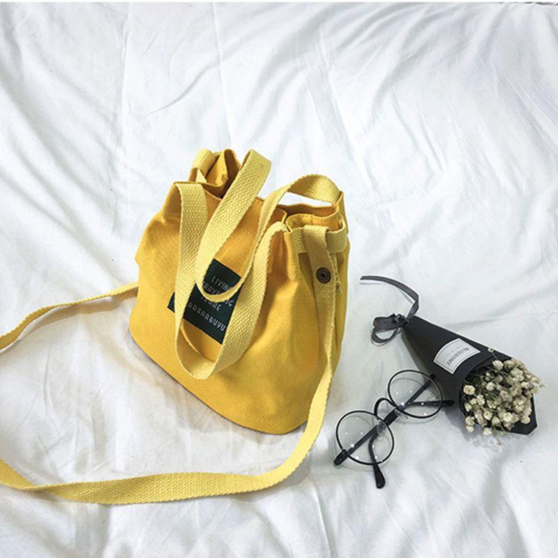 Bolso-de-lona-de-mujer-de-moda-Monedero-bolso-bolsa-de-hombro-Bolsa-de-viaje-PB thumbnail 6