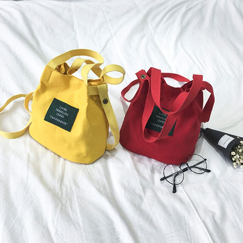 Bolso-de-lona-de-mujer-de-moda-Monedero-bolso-bolsa-de-hombro-Bolsa-de-viaje-PB thumbnail 9
