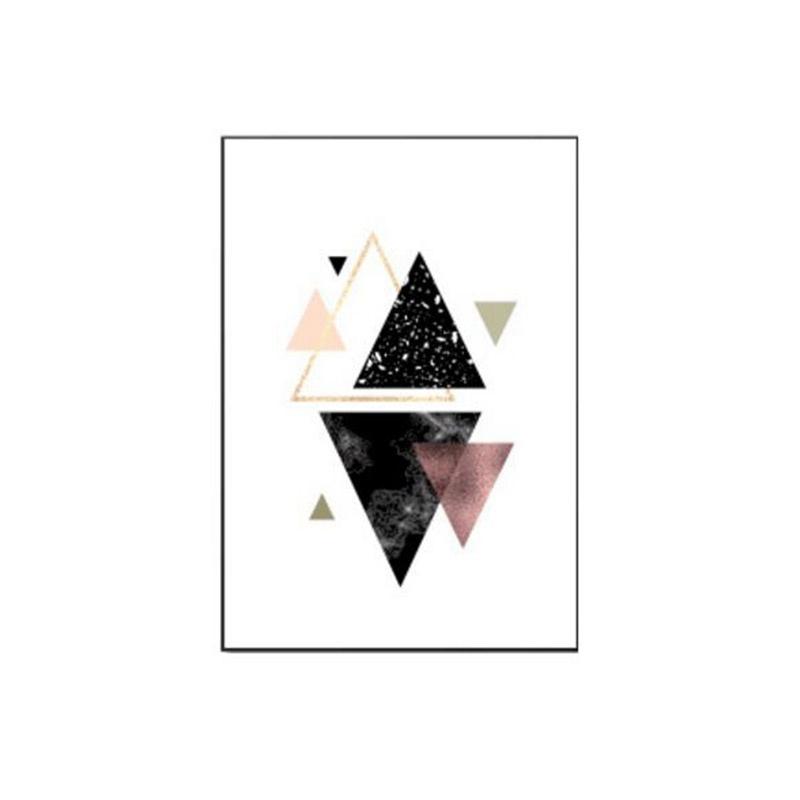 3-piezas-juego-Decoracion-nordica-Pintura-geometrica-de-la-lona-del-arte-G8Z3 miniatura 8