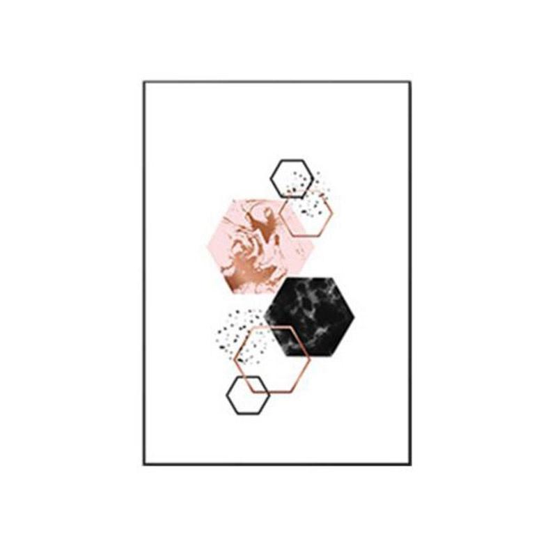 3-piezas-juego-Decoracion-nordica-Pintura-geometrica-de-la-lona-del-arte-G8Z3 miniatura 9