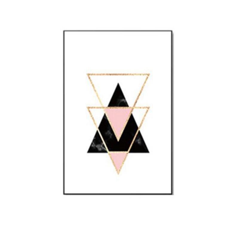 3-piezas-juego-Decoracion-nordica-Pintura-geometrica-de-la-lona-del-arte-G8Z3 miniatura 10