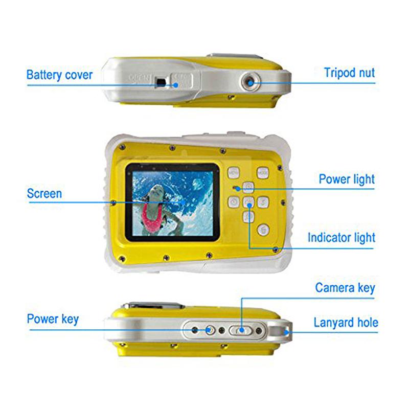 Mini-2-pouces-Plein-HD-720P-Appareil-photo-reflex-numerique-Grand-angle-de-1-3J6 miniature 10