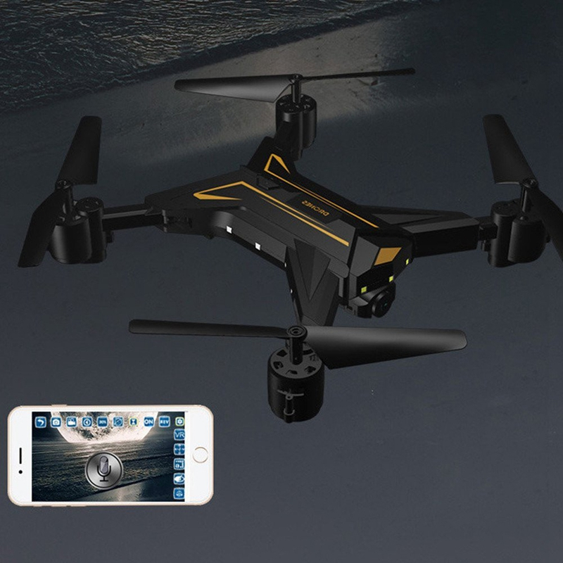 KY601 Foldable 4 Axis Headless RC Drone Camera 720P 2MP WiFi Altitude Hold K6N3