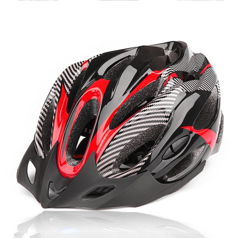 Casco-de-bicicleta-de-montana-bicicleta-Casco-de-ciclismo-de-seguridad-prote-6P6 miniatura 3
