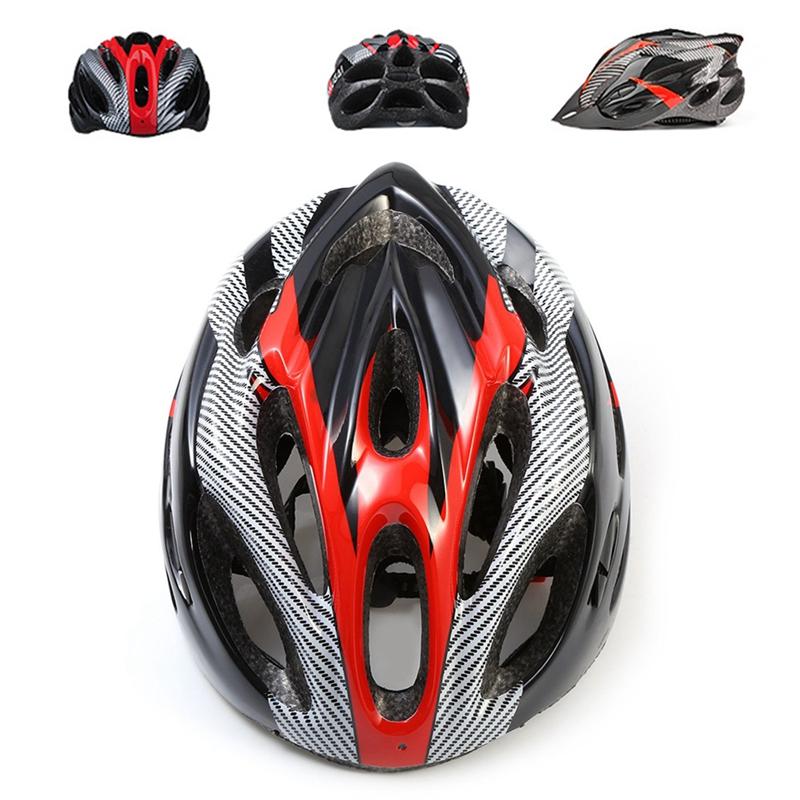 Casco-de-bicicleta-de-montana-bicicleta-Casco-de-ciclismo-de-seguridad-prote-6P6 miniatura 4
