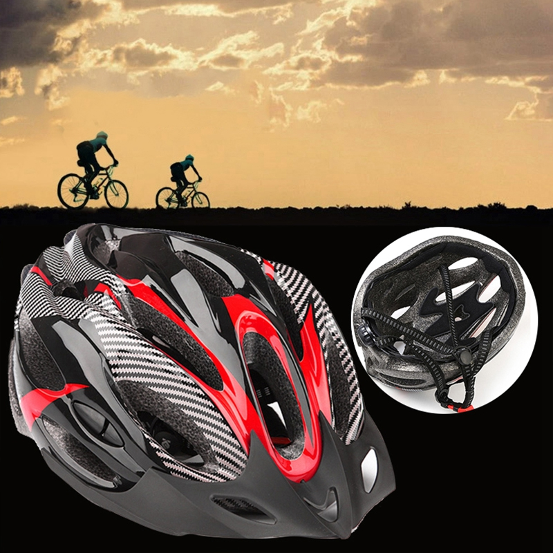 Casco-de-bicicleta-de-montana-bicicleta-Casco-de-ciclismo-de-seguridad-prote-6P6 miniatura 5