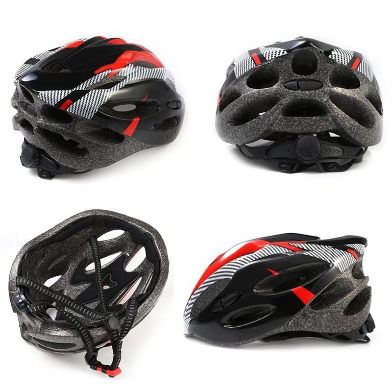 Casco-de-bicicleta-de-montana-bicicleta-Casco-de-ciclismo-de-seguridad-prote-6P6 miniatura 8