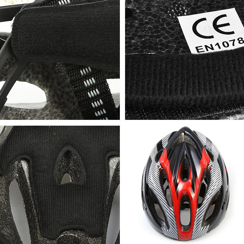 Casco-de-bicicleta-de-montana-bicicleta-Casco-de-ciclismo-de-seguridad-prote-6P6 miniatura 9