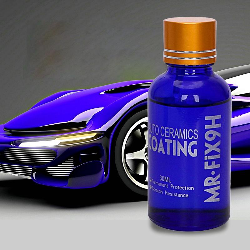30ML-Revetement-de-verre-de-voiture-super-hydrophobe-Revetement-de-ceramiqu-R6T5 miniature 3