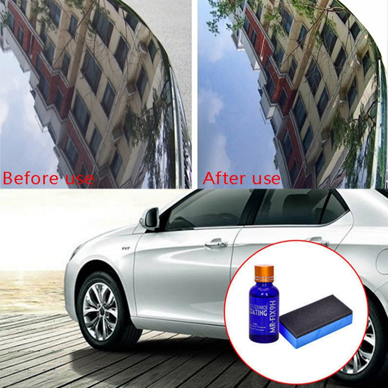 30ML-Revetement-de-verre-de-voiture-super-hydrophobe-Revetement-de-ceramiqu-R6T5 miniature 4