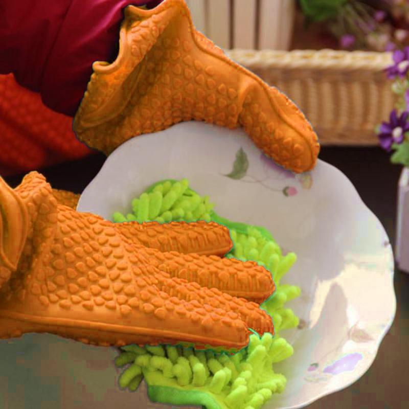 gant-en-silicone-resistant-a-la-chaleur-de-cuisine-support-de-pot-de-four-c-SC miniature 6