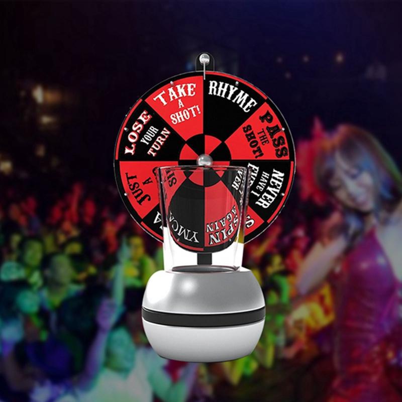 Spin Plattenspieler Das Schnapsglas Trinkspiel Spass Party Plattenspieler S I3G7