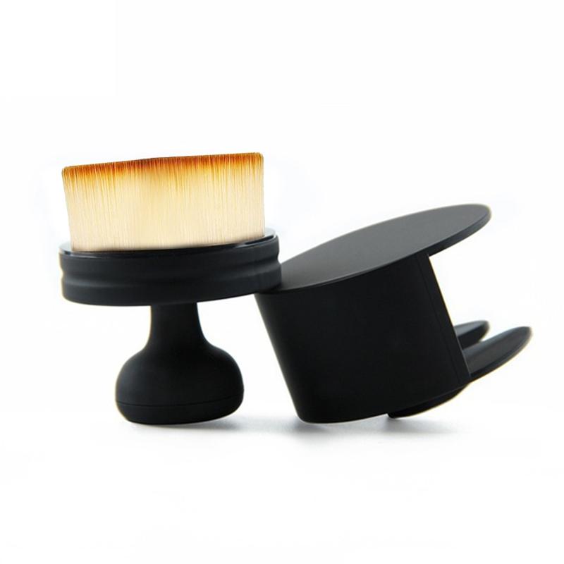 1x runde dichtung make up pinsel kurzen griff flaches. Black Bedroom Furniture Sets. Home Design Ideas