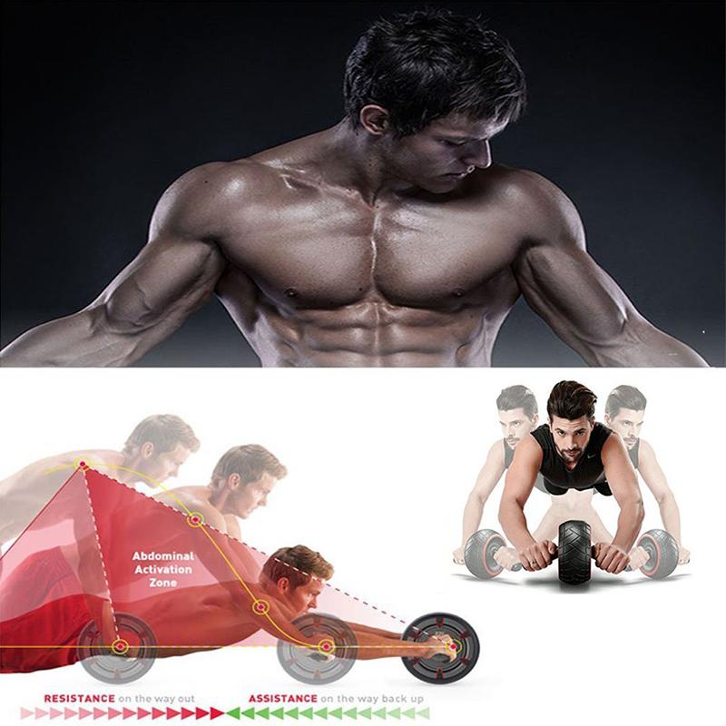 aptitude-entrainement-rapide-exercice-abdominaux-de-rouleau-d-039-Ab-rebond-de-SC miniature 7